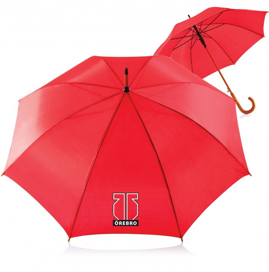 Örebro-paraply, rött